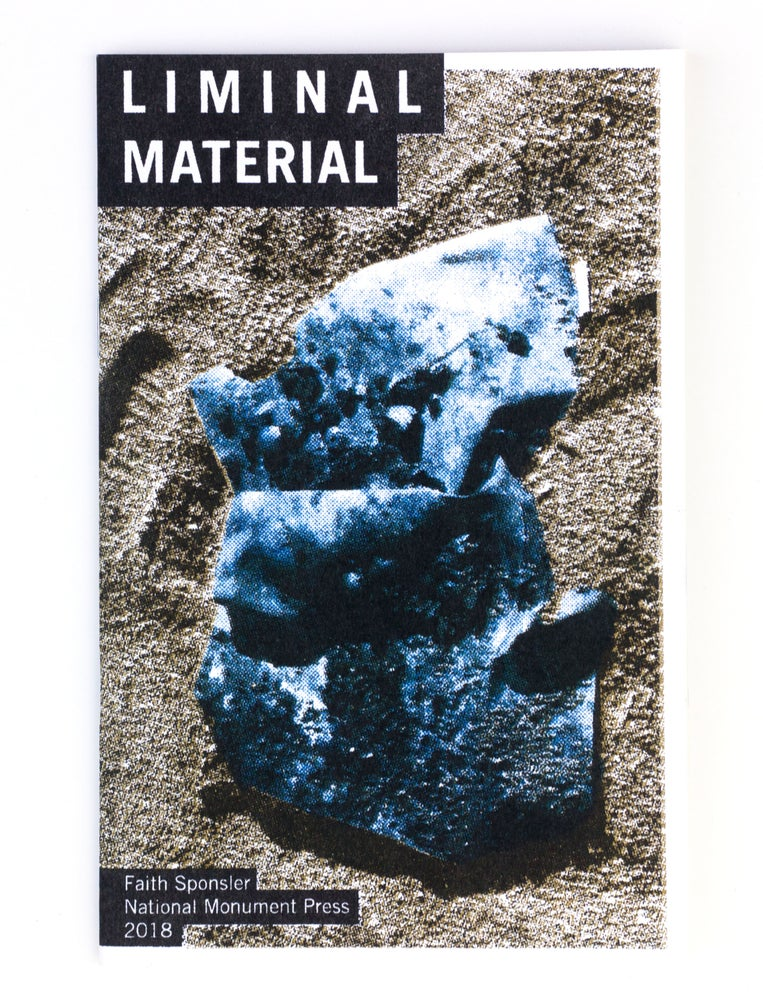 Image of Liminal Material Risograph Artistbook