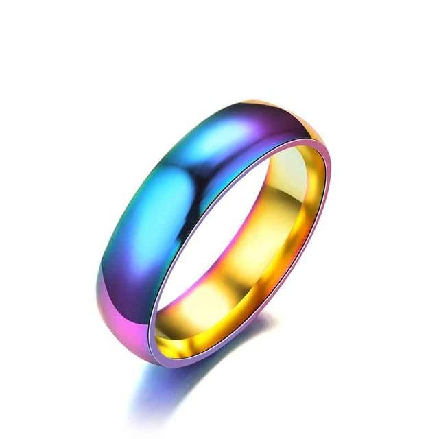 Image of rainbow ring