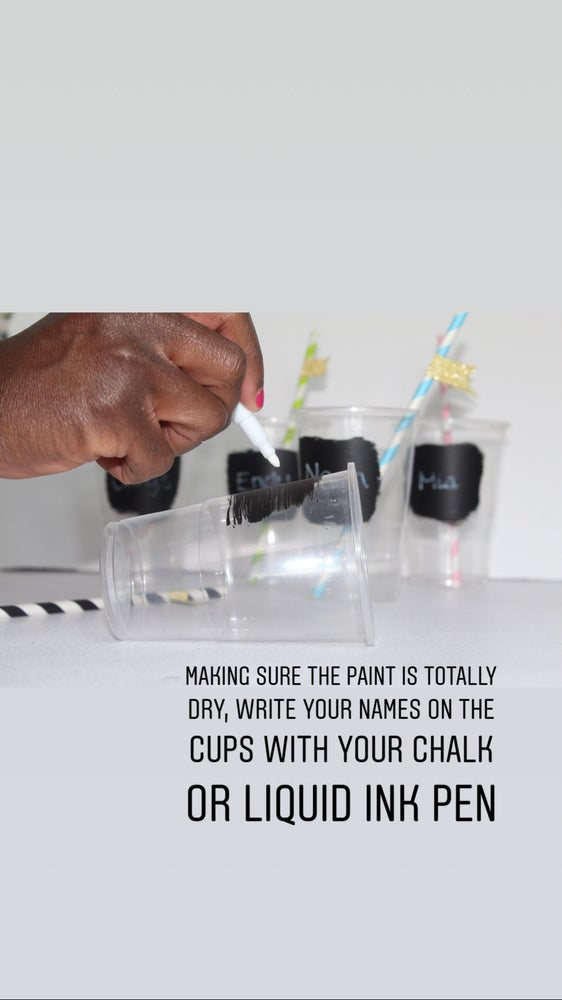 Image of DIY Blackboard cup kit for 20