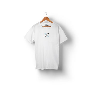 Image of PEONFX - FLAG FIND TEE (WHITE)