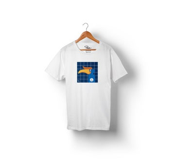 Image of PEONFX - PELICAN STONE TEE (WITE)