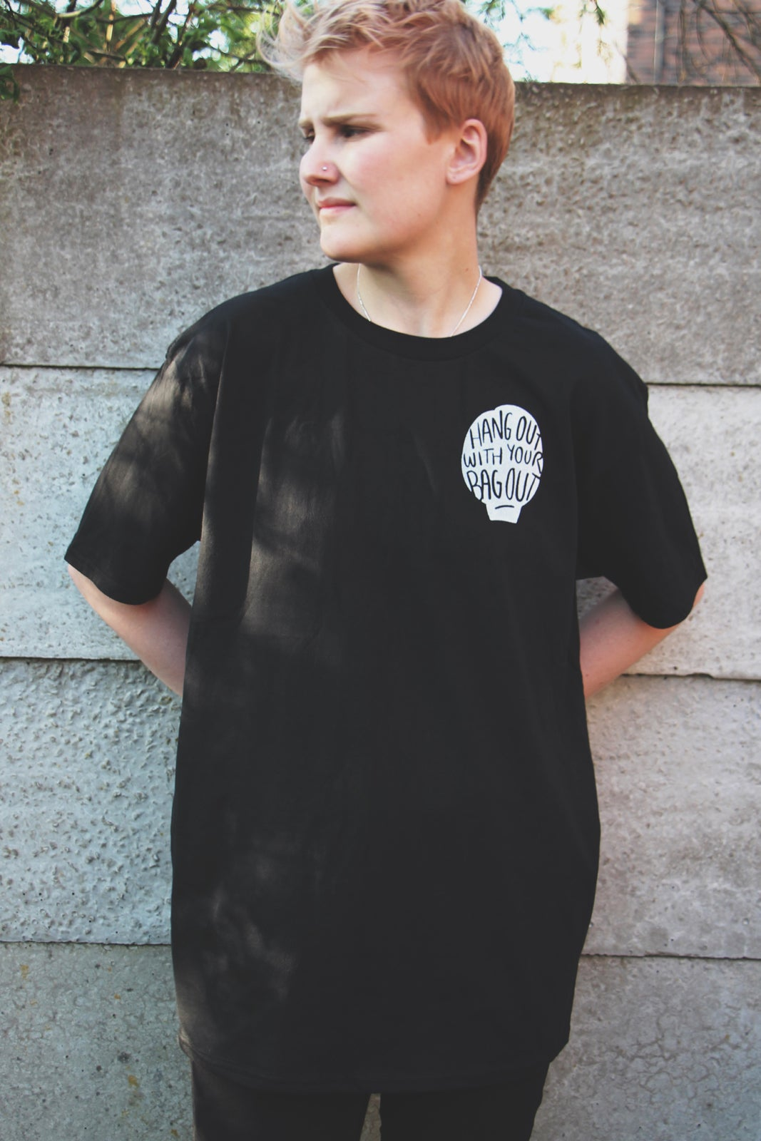 Image of Hang Out T shirt - Black