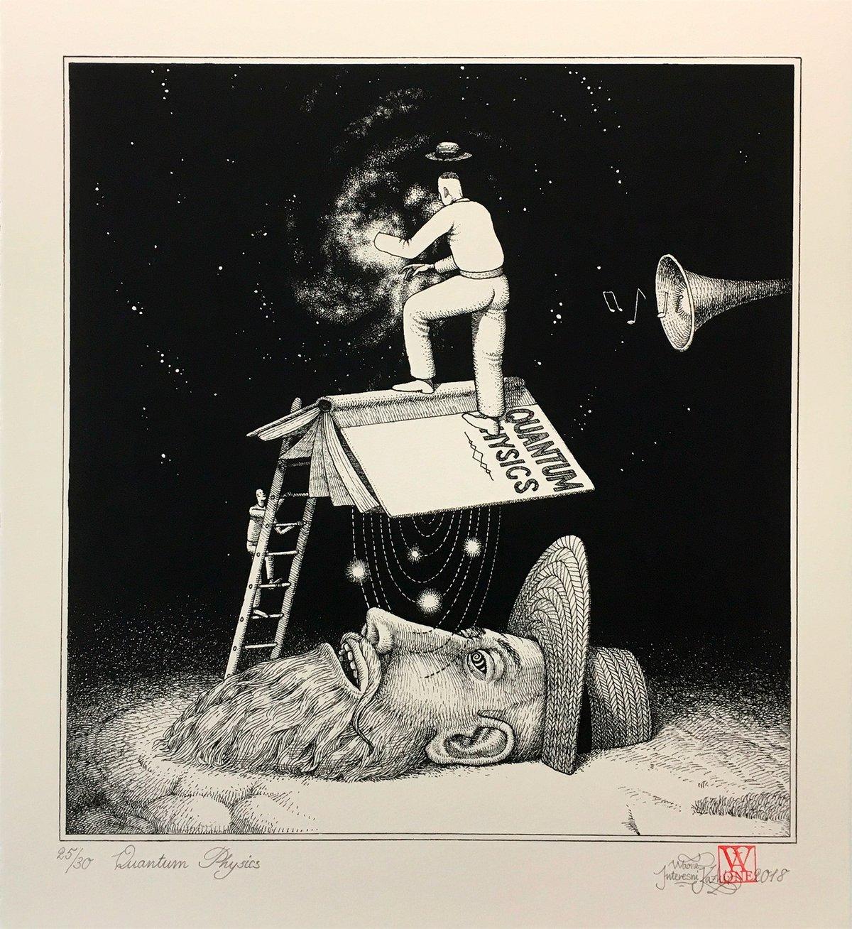 "Image of Waone (Interesni Kazki) ""Quantum Physics"" Black and White"