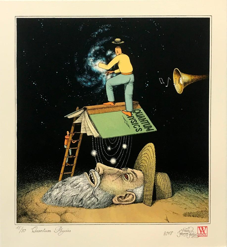 "Image of Waone (Interesni Kazki) ""Quantum Physics"" Hand Colored"