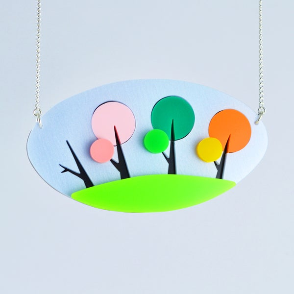 Image of Four Seasons Tree Necklace