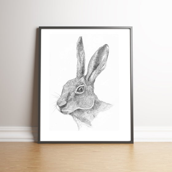 Image of The Hare - Limited Edition handsigned print