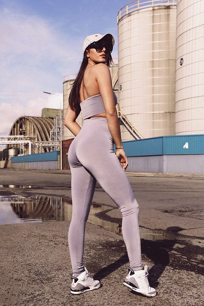 Image of Jersey Leggings - Grey