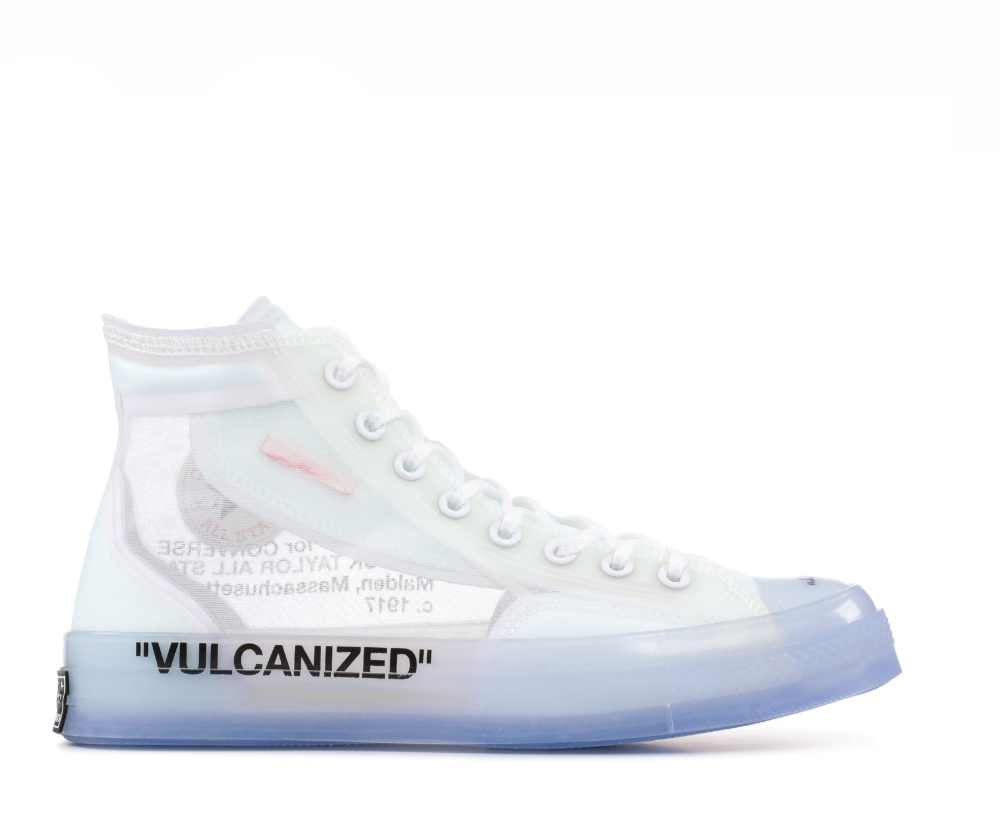 "Image of CONVERSE  X OFF WHITE CHUCK TAYLOR ALL STAR ""CHUCK 70"" 162204C"