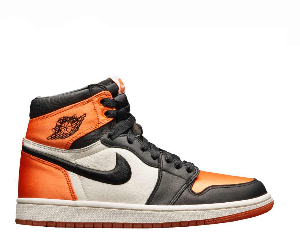 site réputé 0263f 962ea NIKE AIR JORDAN 1 HIGH OG SBB SATIN SHATTERED BLACKBOARD AV3725-010