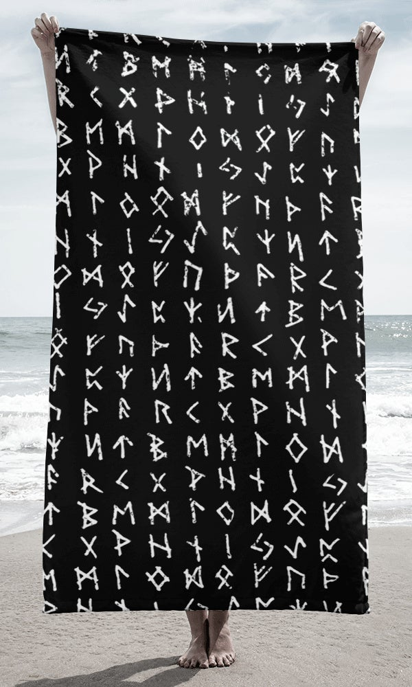 Image of RUNE BEACH TOWEL
