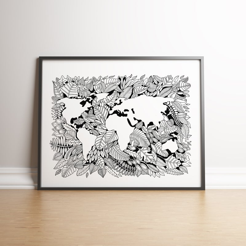Image of Leave This World as we Find It. Limited edition hand signed print