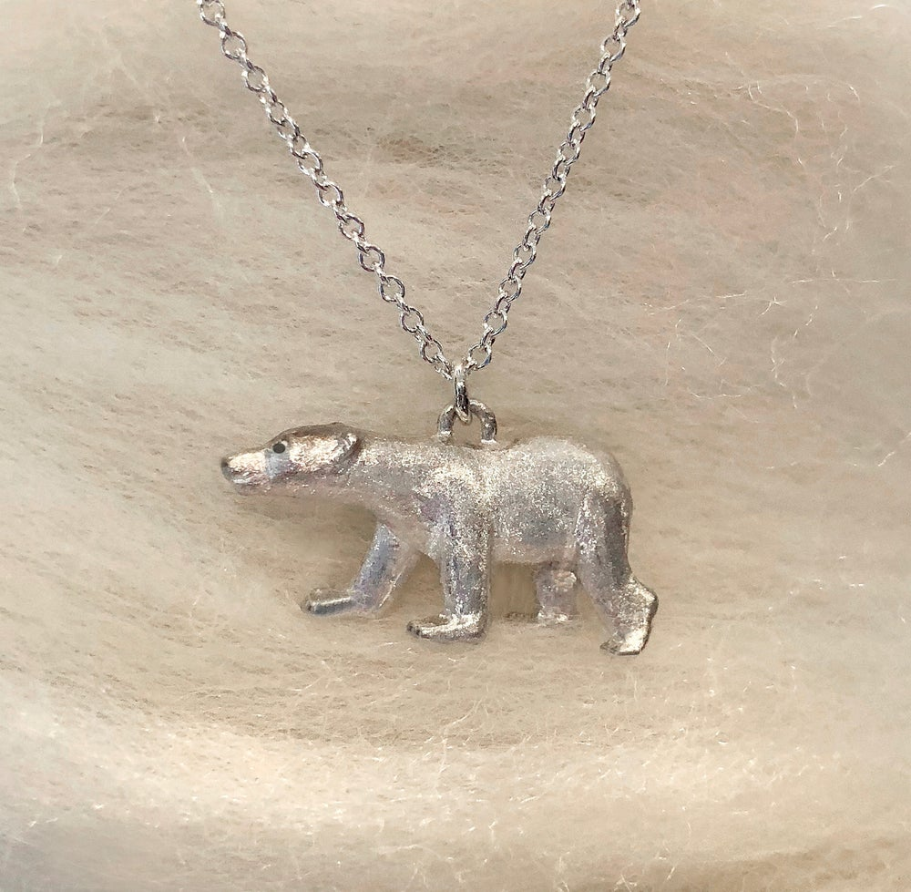 Image of Polar Bear Pendant