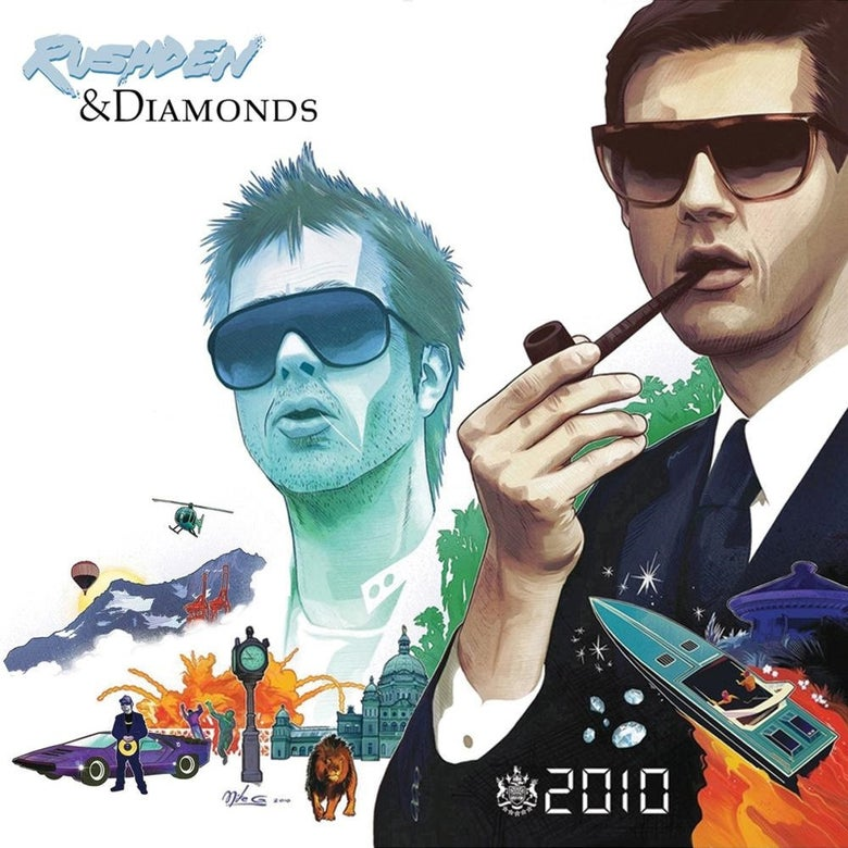 Image of RUSHDEN & DIAMONDS - 2010 DOUBLE CD (LTD EDN DIGIPAK)