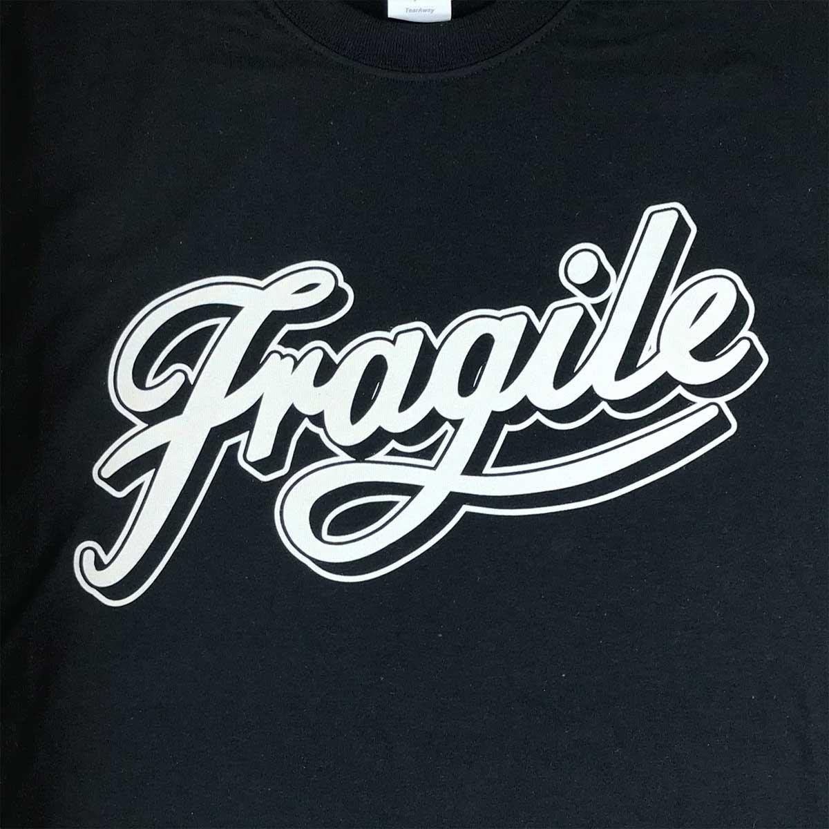 Image of Classic Black Fragile Script Tee