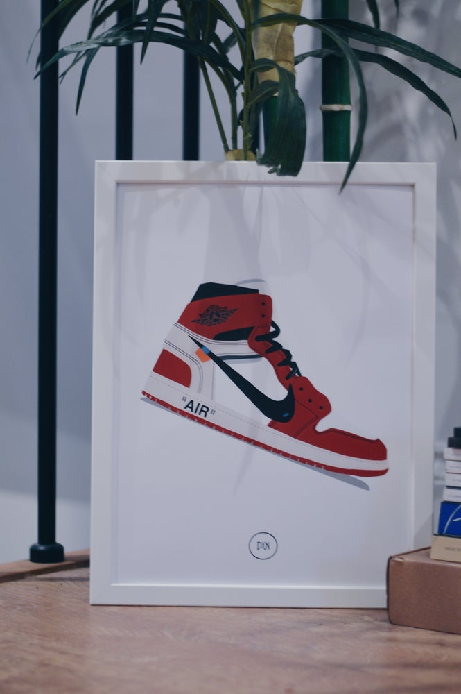Image of Off White x Air Jordan 1 A3 Print