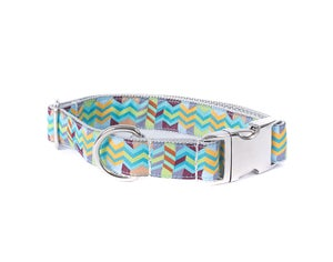 Image of Chevron - Dog Collar in the category  on Uncommon Paws.