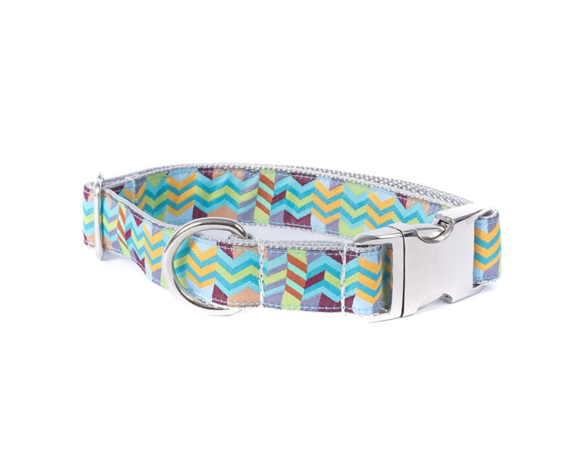Chevron - Dog Collar