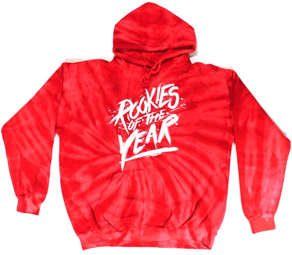 Image of Rookies Red Twisted Tie Dye
