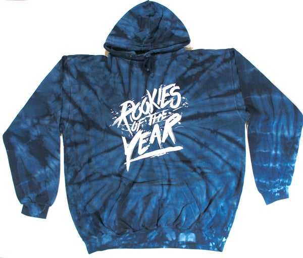 Image of Navy Blue Twisted Tie Dye