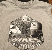 Image of No Bikes 2018 T-Shirt