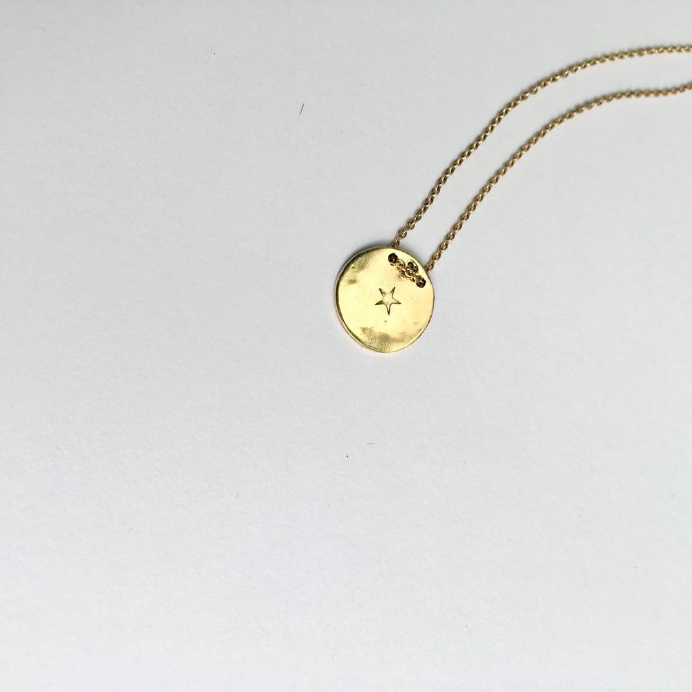 Image of précieuses empreintes * collier céleste