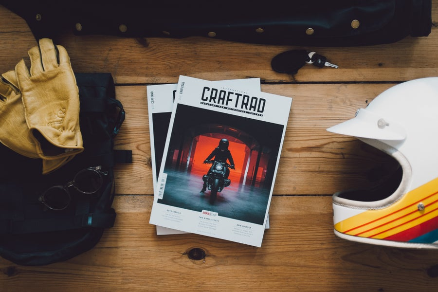 Image of CRAFTRAD x Bike EXIF • International Issue N°1