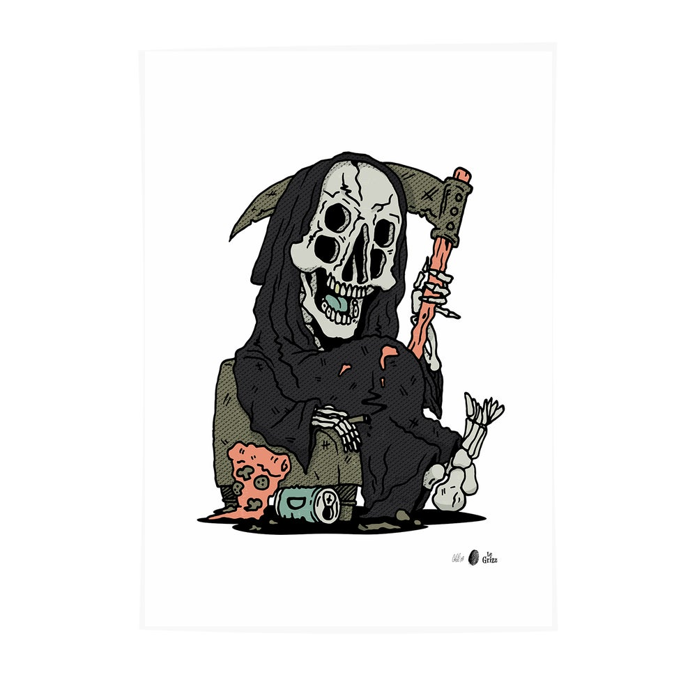 Image of GRIZZ REAPER - Edition of 50