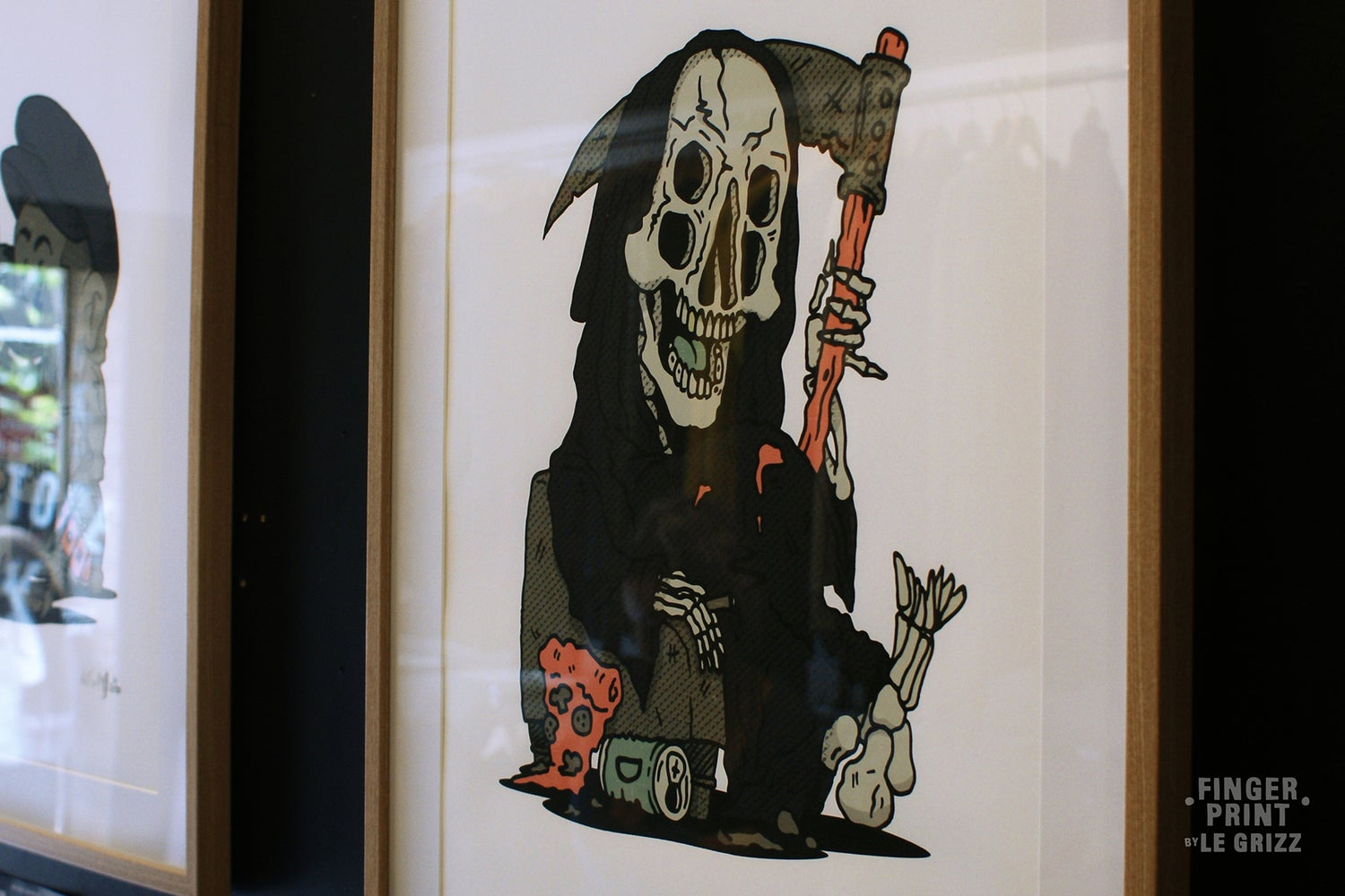 Image of Grizz Reaper, Catch you later Print