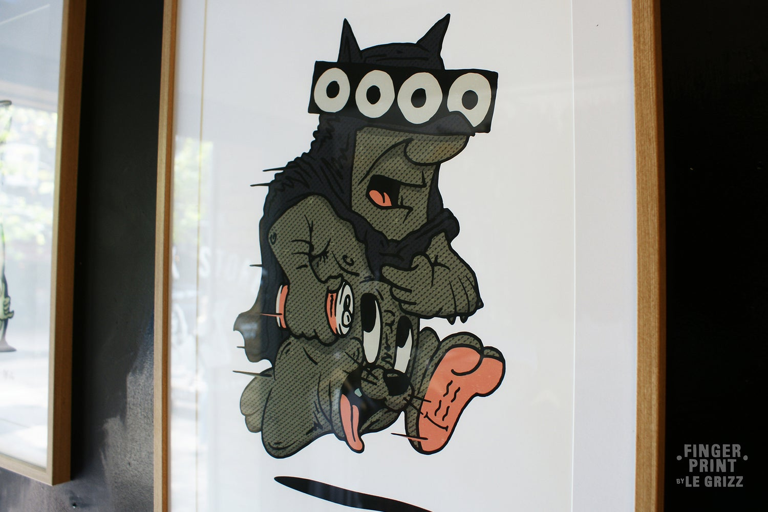 Image of El Batty Barney Print