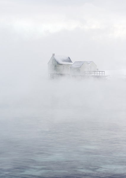 Image of Willard Beach Sea Smoke