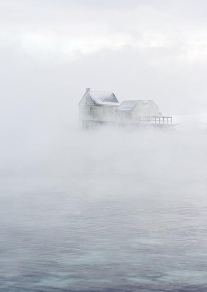 Image of Willard Beach Sea Smoke