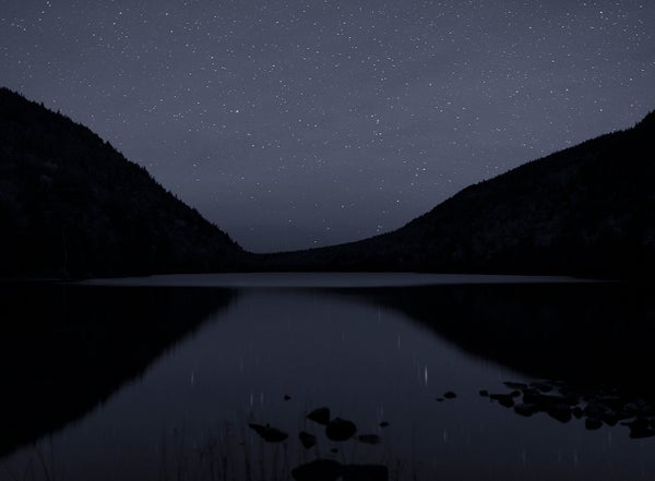 Image of Starry Night at Bubble Pond
