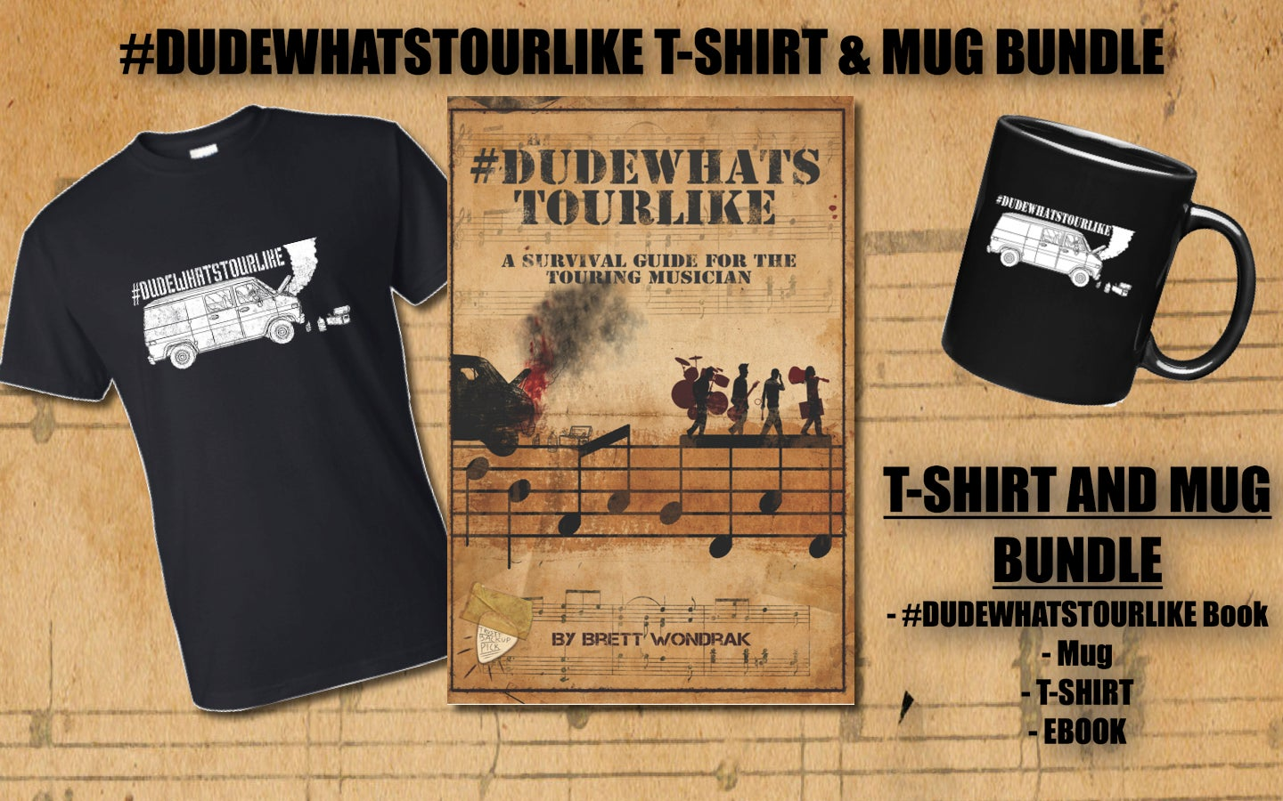 Image of T-Shirt & Mug Preorder