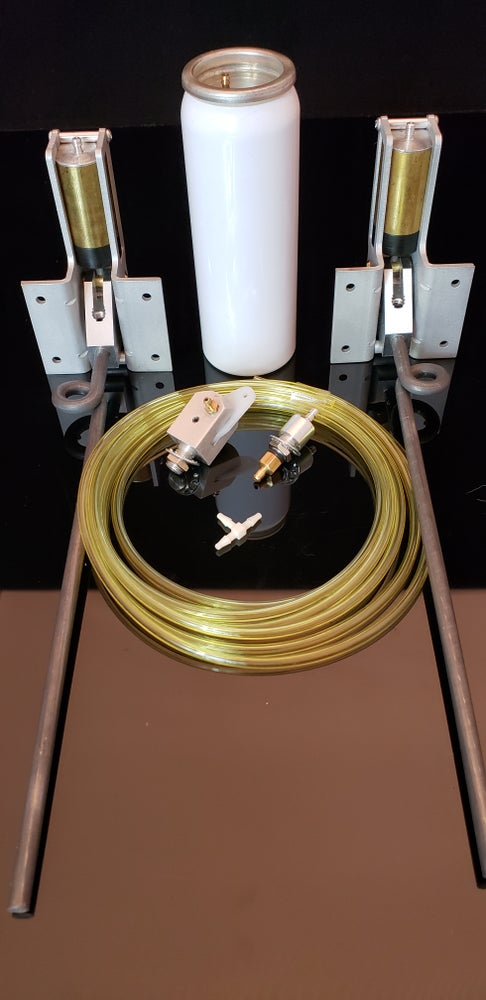 """Image of 103 HD Main gear system 90 degree complete set with 3/16"""" wire struts 6 lbs to 14 lbs"""