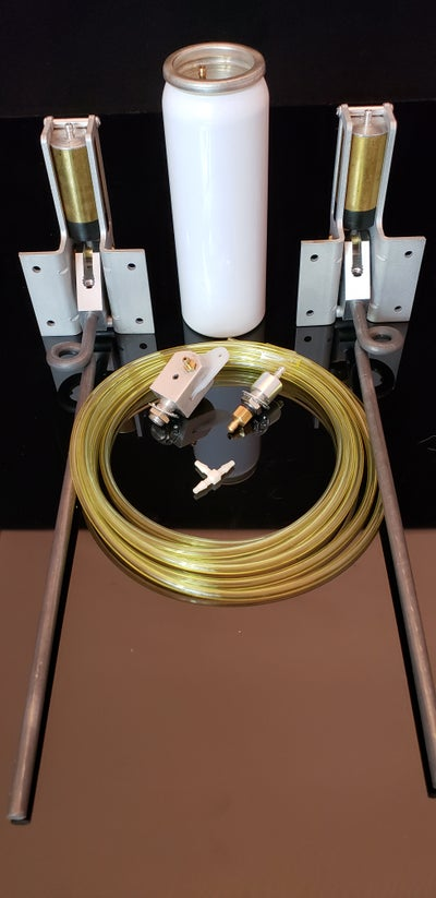 "Image of 103 HD Main gear system 90 degree complete set with 3/16"" wire struts 6 lbs to 14 lbs"