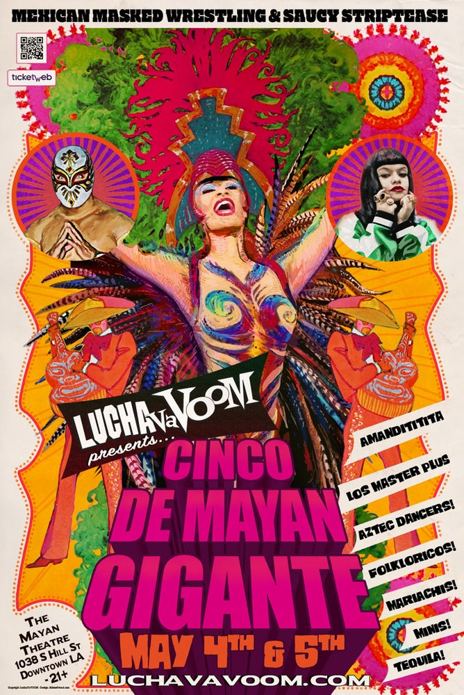 Image of Cinco de Mayan Gigante Poster