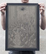 Image of Ms. Girod — Silkscreen print