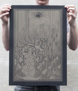 Image of Ms. Girod — Silkscreen print