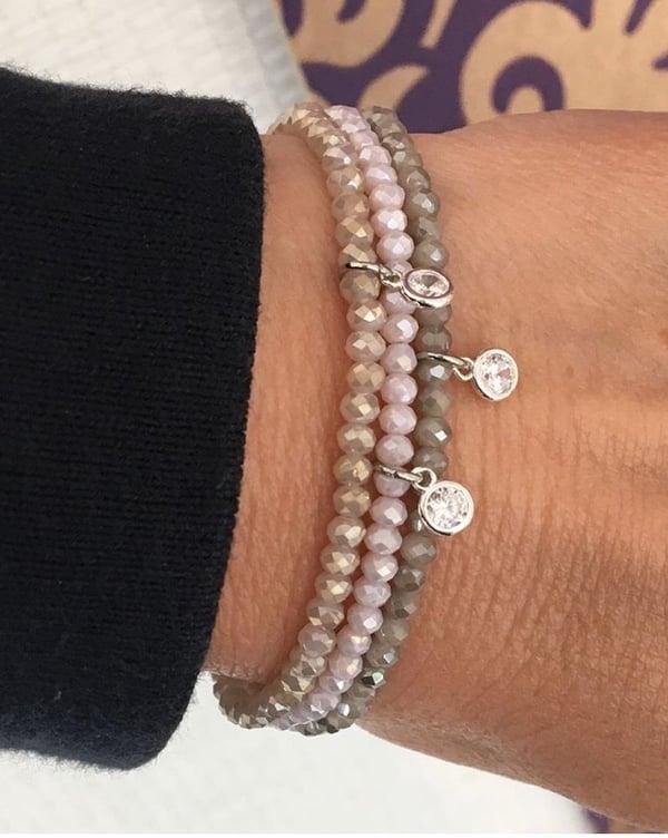 Image of Armband Ibiza Sorbet Silber