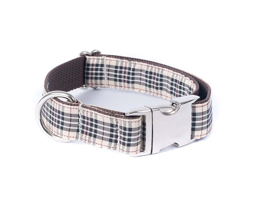 Windsor Plaid - Dog Collar
