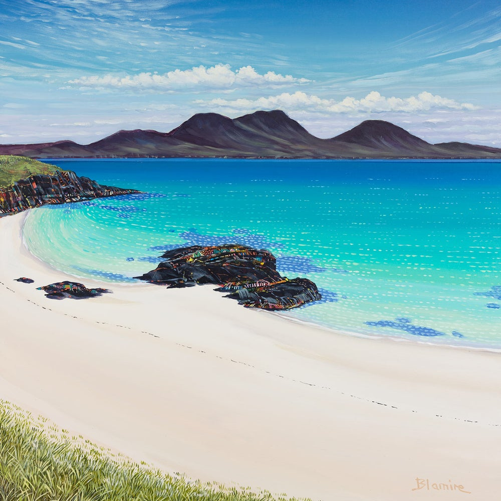 Image of Cable bay, Colonsay print