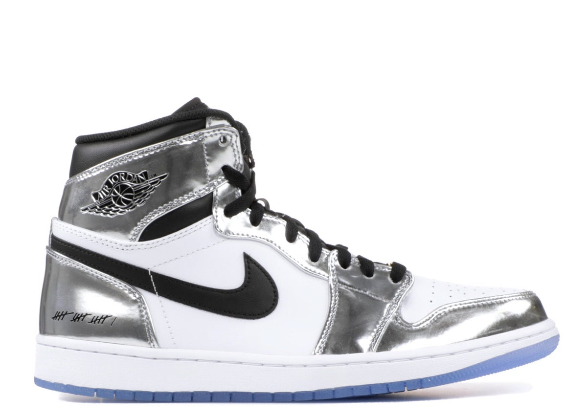 "Image of AIR JORDAN 1 RETRO HI THINK 16 ""KAWHI LEONARD"""