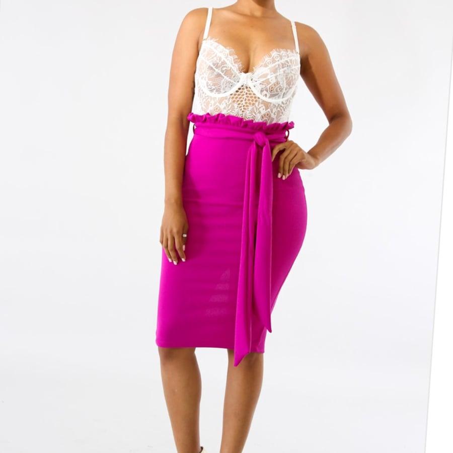 Image of Gina midi skirt