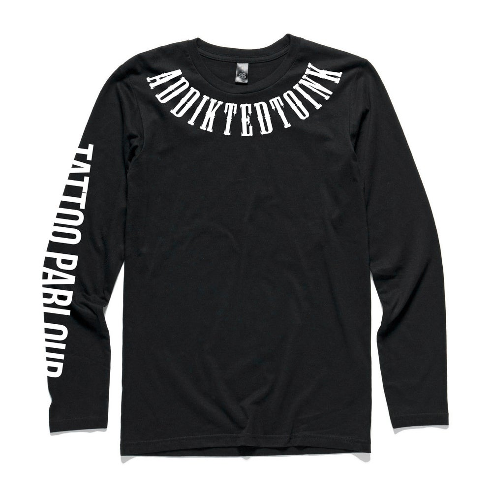 Image of ATI LONGSLEEVE TEE – BLACK