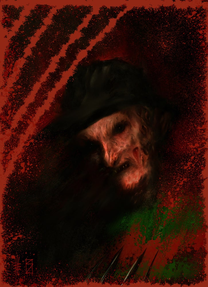 Image of Freddy  spiritcage joint art