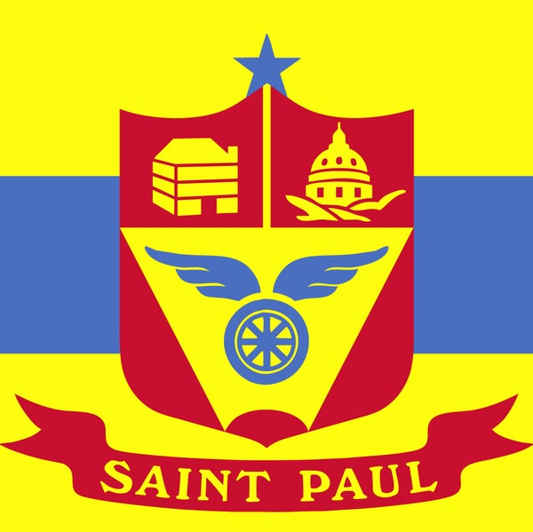 Image of Saint Paul Flag Patch