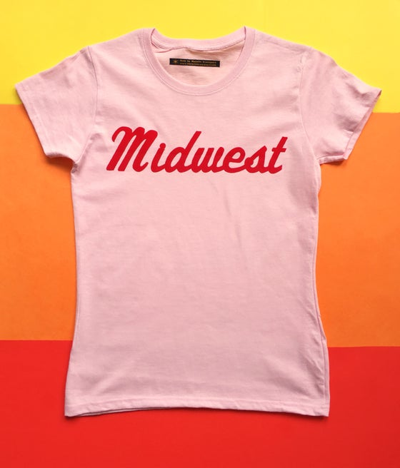 Image of Midwest Flock Tee - Ladies