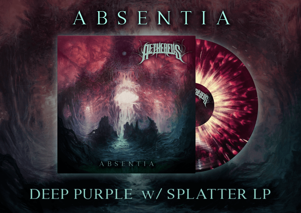 Image of [PRE-ORDER] AETHEREUS - Deep Purple w/Splatter - LP