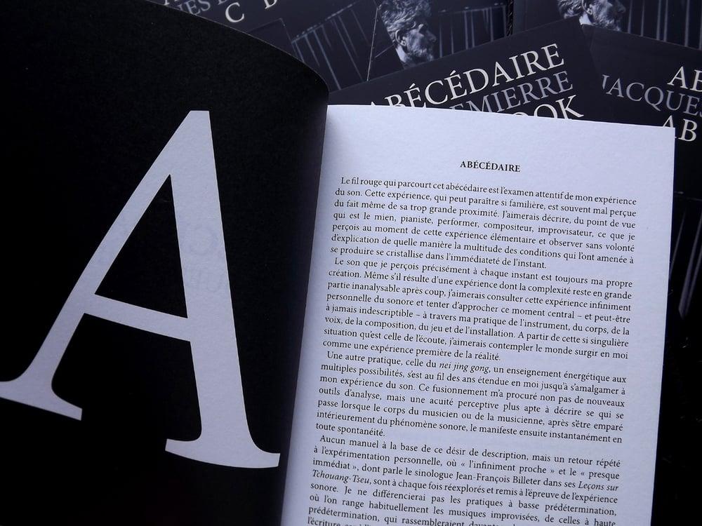 Image of Abécédaire + ABC Book de Jacques Demierre