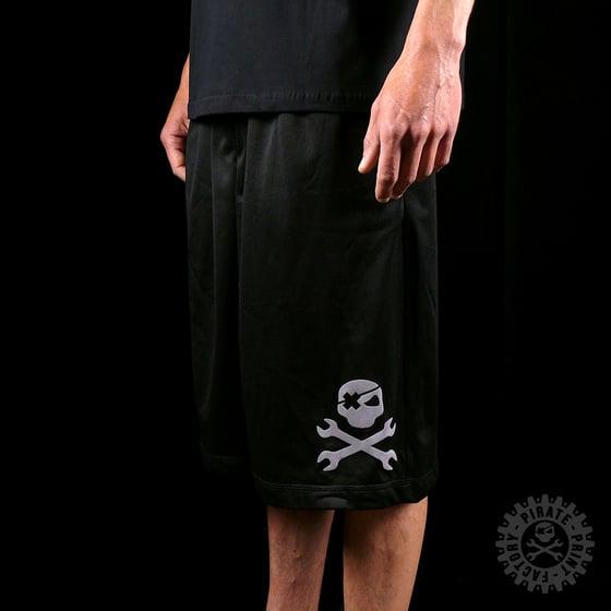 Image of SHORT MESH BLACK